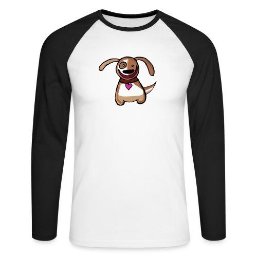 Titou le chien - T-shirt baseball manches longues Homme