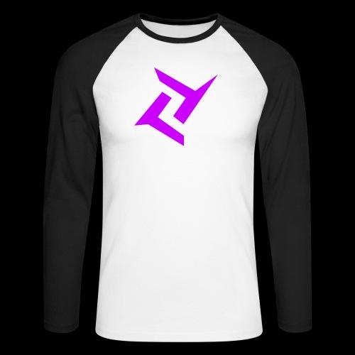New logo png - Mannen baseballshirt lange mouw