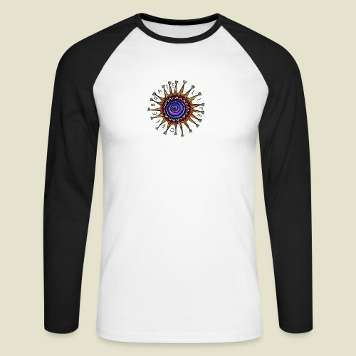 Celebrate Life Mandala - Männer Baseballshirt langarm