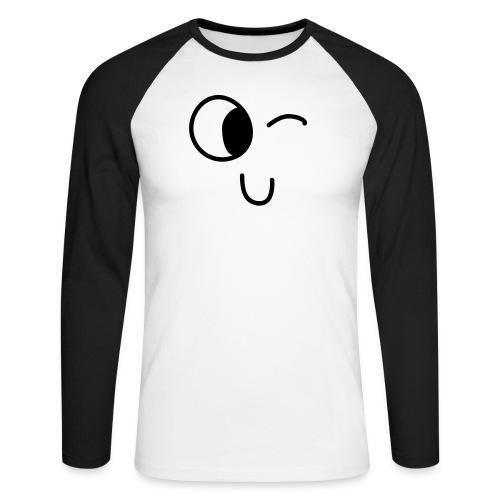 Jasmine's Wink - Mannen baseballshirt lange mouw