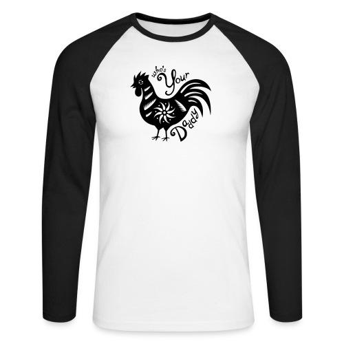 Cock Daddy - Mannen baseballshirt lange mouw