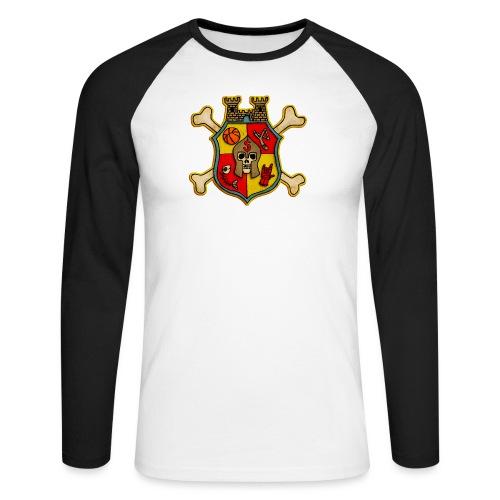 Teenager Premium T-Shirt - Wappen Burg Schreckenst - Männer Baseballshirt langarm