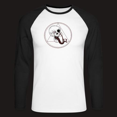 EyeSkull - Männer Baseballshirt langarm