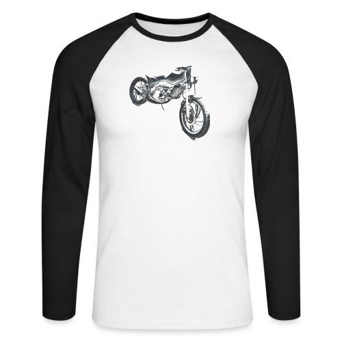 bike (Vio) - Men's Long Sleeve Baseball T-Shirt