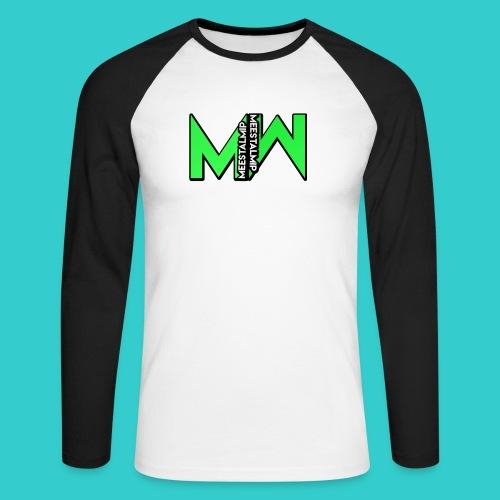MeestalMip Shirt met lange mouwen - Kids & Babies - Mannen baseballshirt lange mouw