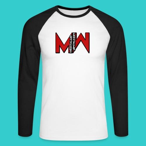 MeestalMip Hoodie - Men - Mannen baseballshirt lange mouw