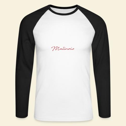 IGP Malinois - Männer Baseballshirt langarm