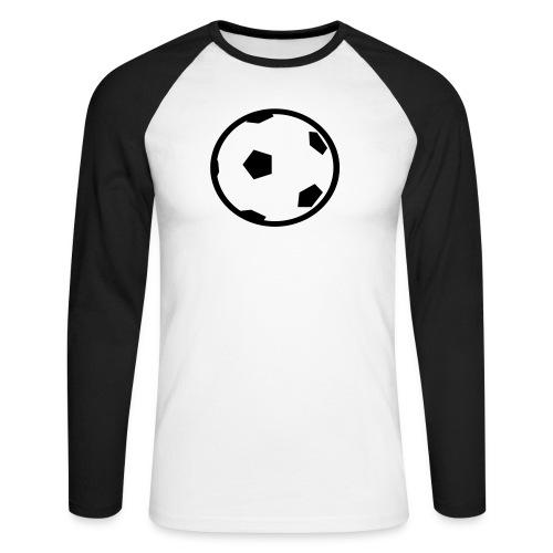 Unterwasser-Rugby Ball - Männer Baseballshirt langarm