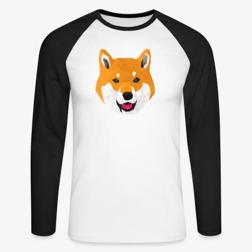 Shiba Dog - T-shirt baseball manches longues Homme