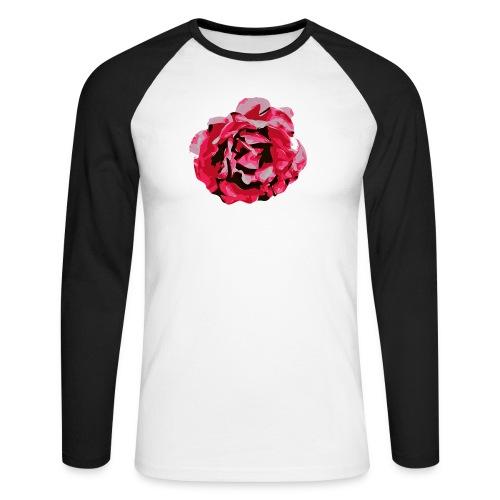rose - Männer Baseballshirt langarm