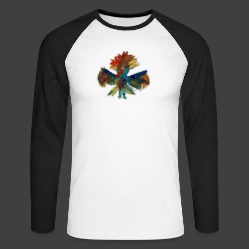 Mayas bird - Men's Long Sleeve Baseball T-Shirt