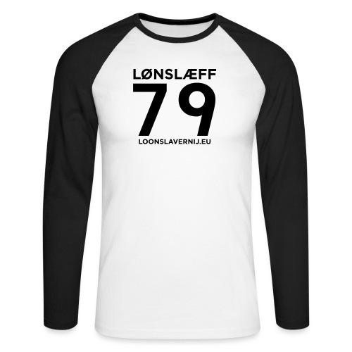 100014365_129748846_loons - Mannen baseballshirt lange mouw