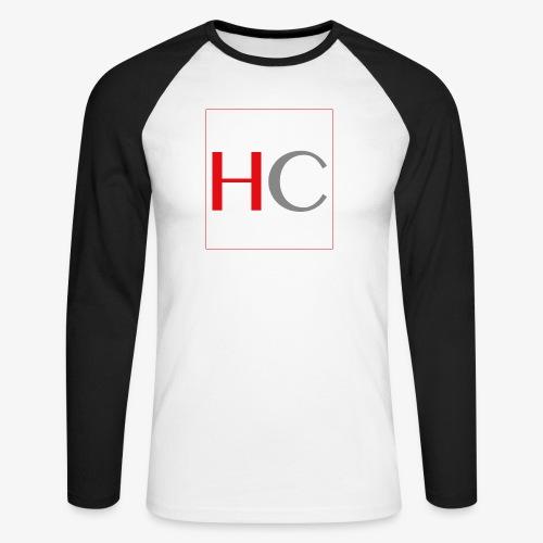 hc png - T-shirt baseball manches longues Homme