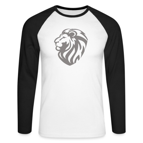 Lion grey - T-shirt baseball manches longues Homme
