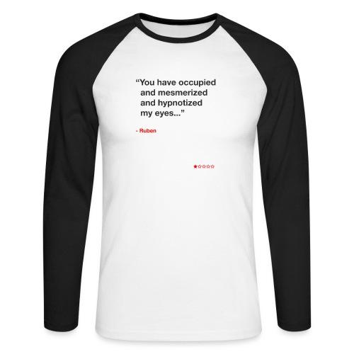 Mesmerized by Ruben - Langærmet herre-baseballshirt