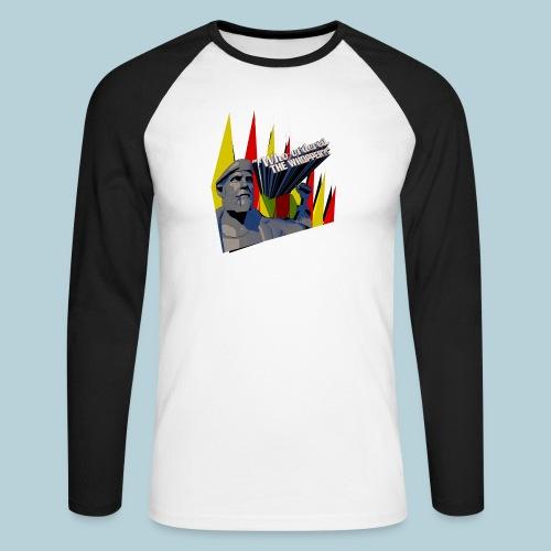 RATWORKS Whopper - Men's Long Sleeve Baseball T-Shirt