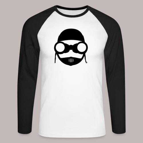 Peeper Biker - Männer Baseballshirt langarm