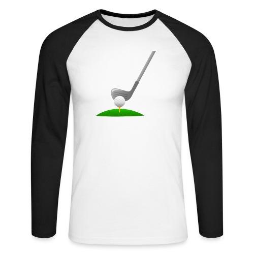 Golf Ball PNG - Raglán manga larga hombre