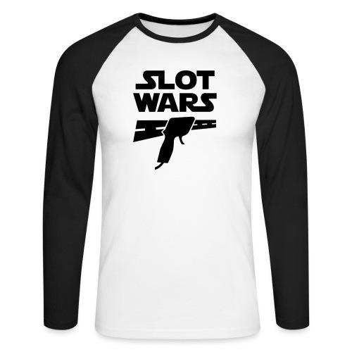Slot Wars - Männer Baseballshirt langarm