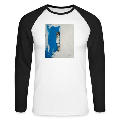 THE CHOICE - Koszulka męska bejsbolowa z długim rękawem