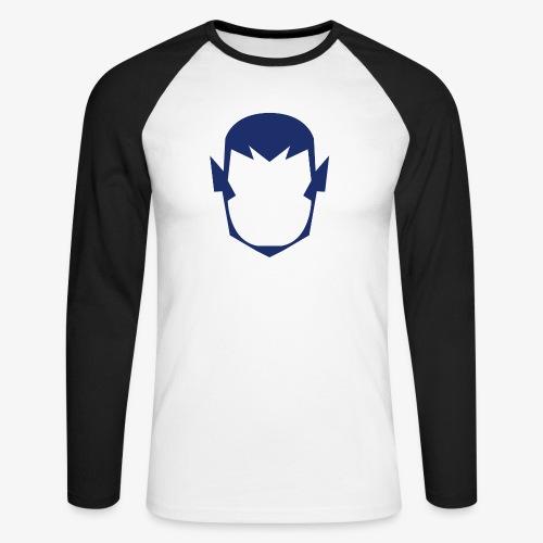 MASK 4 SUPER HERO - T-shirt baseball manches longues Homme