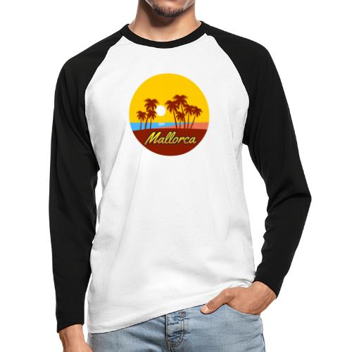 Mallorca - Als Geschenk oder Geschenkidee - Männer Baseballshirt langarm