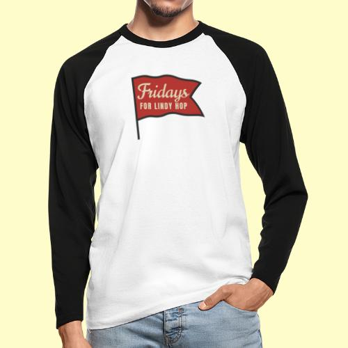Lindy Hop Swing Tanz Geschenk T-Shirt - Männer Baseballshirt langarm
