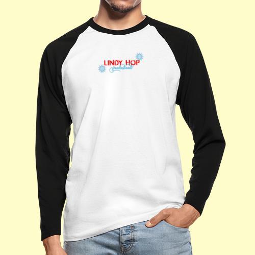 Lindy Hop Wonderland Tanz T-shirt - Männer Baseballshirt langarm