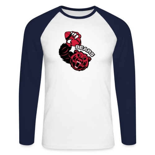 Bears Rugby - T-shirt baseball manches longues Homme