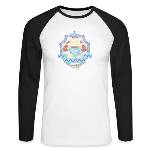 Hygge AF - Männer Baseballshirt langarm