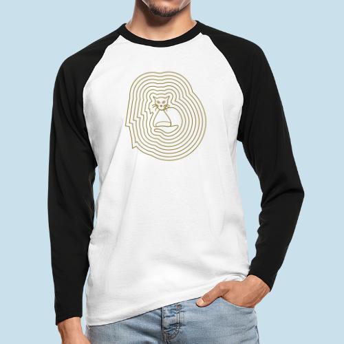 Katzenliebe - Männer Baseballshirt langarm
