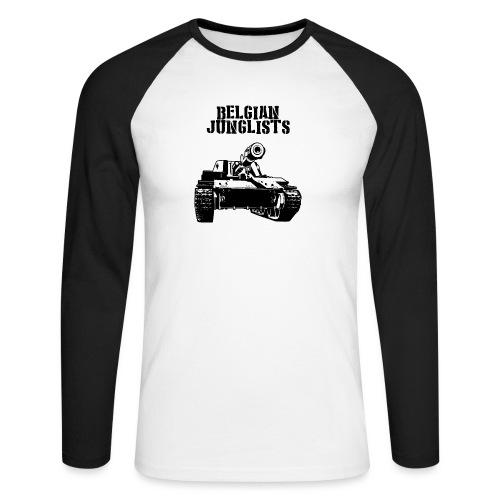 Tshirtbig - Men's Long Sleeve Baseball T-Shirt