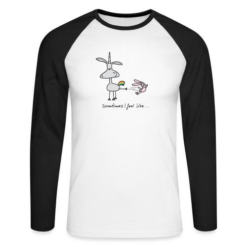 Dru - Sometimes I feel like... - Männer Baseballshirt langarm