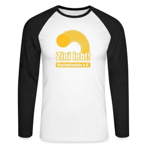 Zini lebt! - Männer Baseballshirt langarm