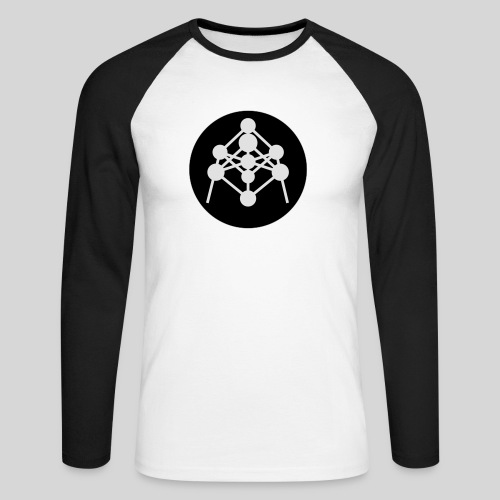 Atomium - T-shirt baseball manches longues Homme