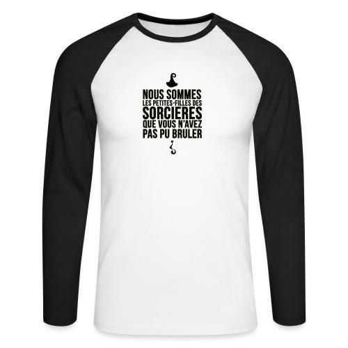 filles de sorcières - T-shirt baseball manches longues Homme