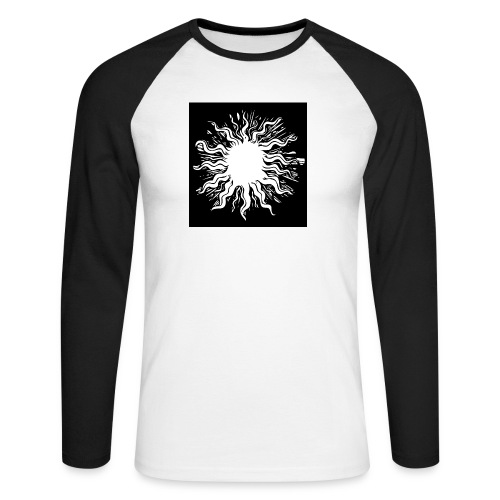 sun1 png - Men's Long Sleeve Baseball T-Shirt