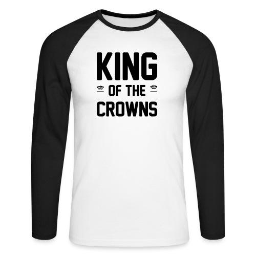 King of the crowns - Mannen baseballshirt lange mouw