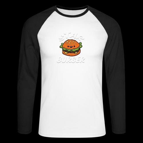 Star Burger Brand - Mannen baseballshirt lange mouw