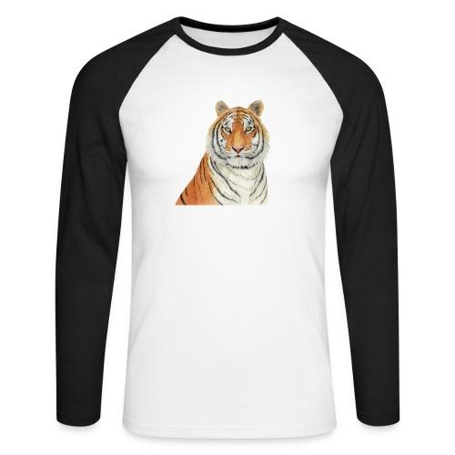 Tigre,Tiger,Wildlife,Natura,Felino - Maglia da baseball a manica lunga da uomo