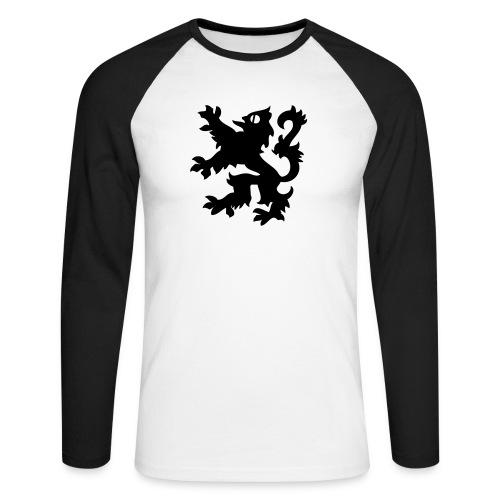 SDC men's briefs - Men's Long Sleeve Baseball T-Shirt