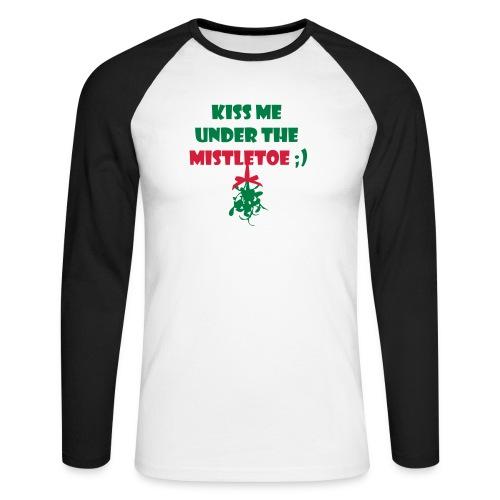 mistletoe - Männer Baseballshirt langarm