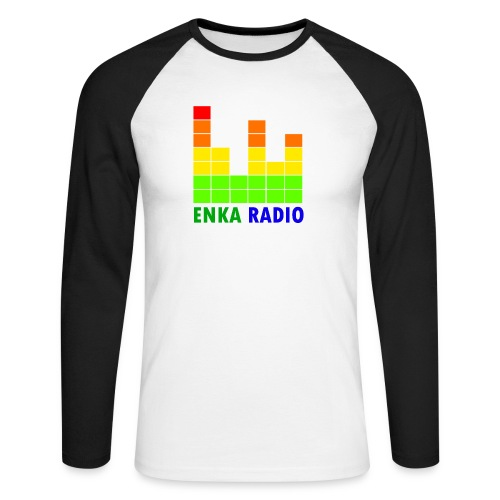 Enka radio - T-shirt baseball manches longues Homme