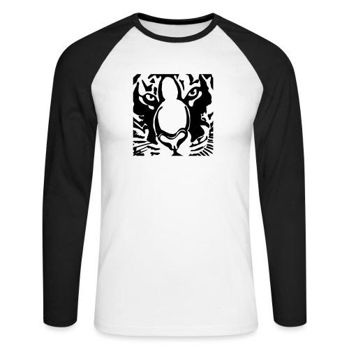 tijger2010shirt2 - Men's Long Sleeve Baseball T-Shirt
