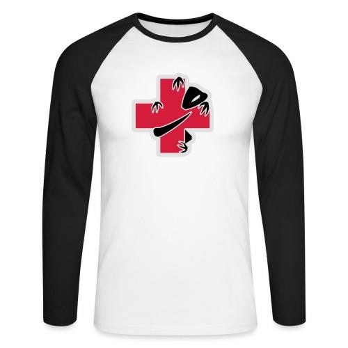 sic-santyx-infirmyx-citud - T-shirt baseball manches longues Homme