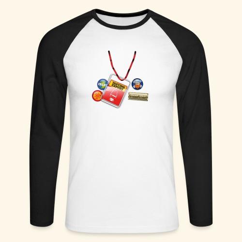 Whisky T Shirt Tasting Expert - Männer Baseballshirt langarm