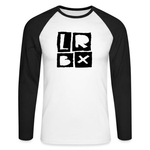 LRBX - La Roulette Bruxelles - Longboard - T-shirt baseball manches longues Homme