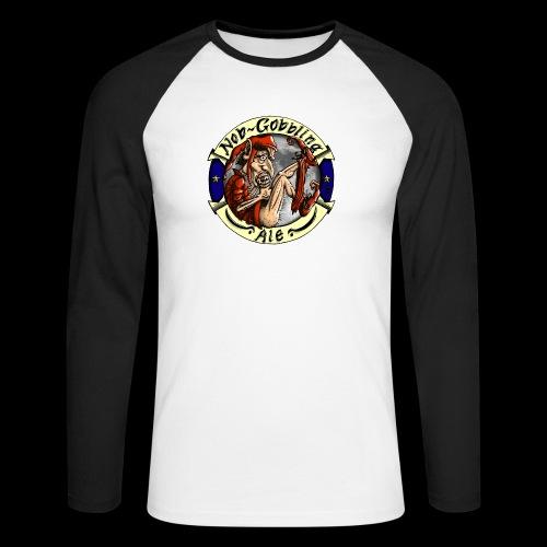 Goblin Ale T-Shirt - Men's Long Sleeve Baseball T-Shirt