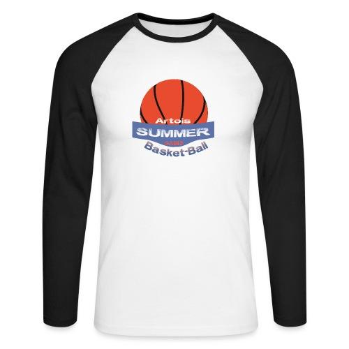 logo speadshirt - T-shirt baseball manches longues Homme