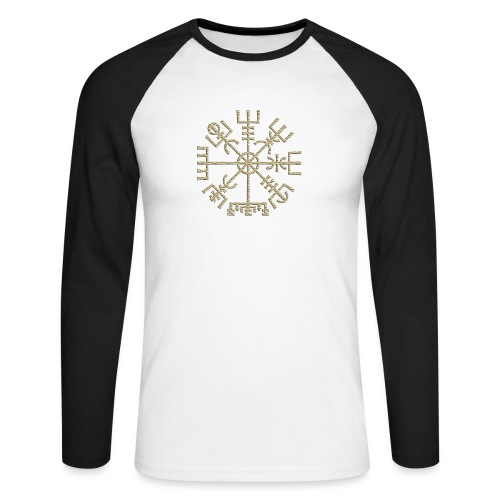 Vegvisir-The-Runic-Viking or - T-shirt baseball manches longues Homme